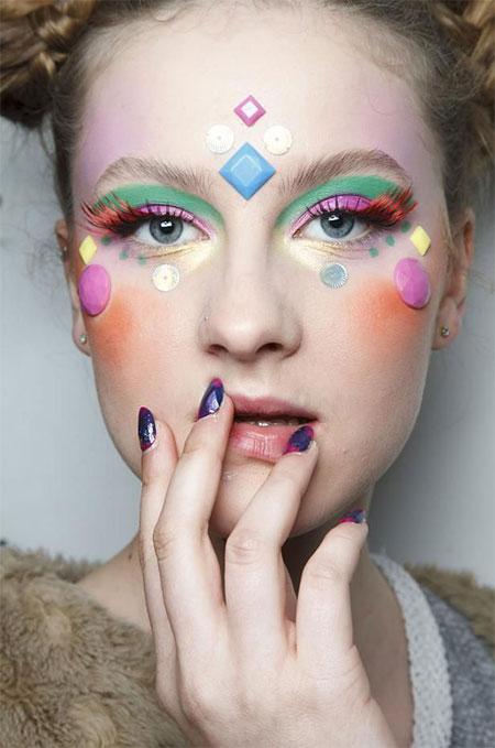 15 Winter Fairy Fantasy Make Up Ideas Trends  Looks For Girls 2015  Modern Fashion Blog