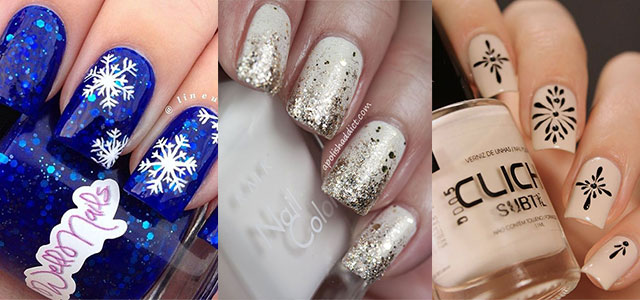 15 Simple Winter Nail Art Designs Ideas Trends Stickers 2017