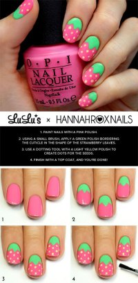 15 Simple & Easy Summer Nails Tutorials For Beginners ...