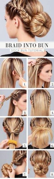 easy step summer braids