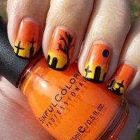 100+ Halloween Nail Art Designs, Ideas, Trends & Stickers ...