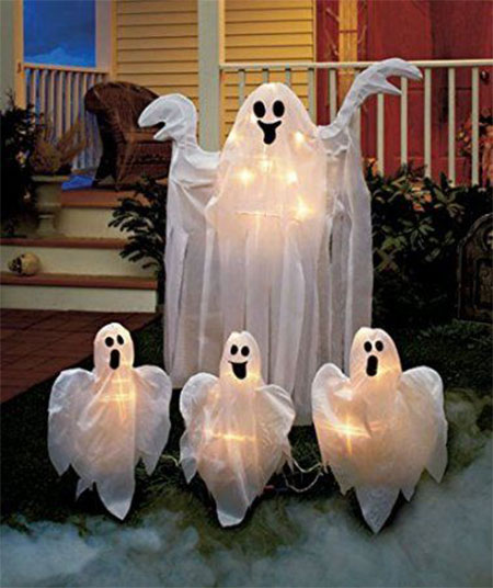15 cheap home made indoor outdoor halloween decoration ideas - Cheap Halloween Decoration Ideas Outdoor