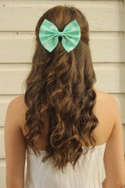creative christmas themed hairstyle