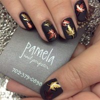 20+ Fall / Autumn Nail Art Designs, Ideas & Stickers 2015 ...
