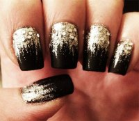 15+ Best Happy New Year Eve Nail Art Designs, Ideas