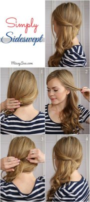 simple step winter hairstyle