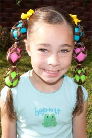 cute easter hairstyle