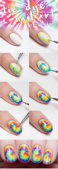 15+ Easy Spring Nails Tutorials For Beginners & Learners ...
