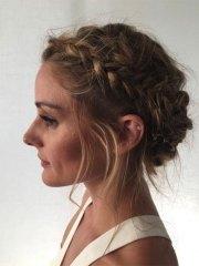 summer hairstyle updo girls