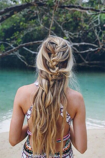 15 Latest Summer Beach Hairstyles  Ideas For Girls 2016