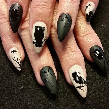 50+ Halloween Nail Art Designs 2016