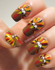 thanksgiving nail art design