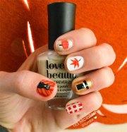 thanksgiving nail art design