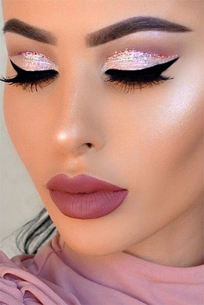 12 Christmas Themed Makeup Looks Amp Trends For Women 2016