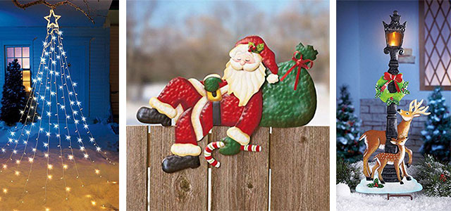 25+ Cheap, Unique Christmas Indoor & Outdoor Decorations
