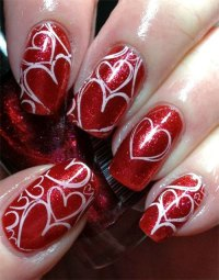 25+ Best Valentine's Day Nail Art Designs & Ideas | Vday ...