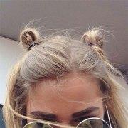 summer hairstyle bun updo