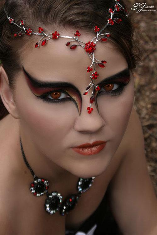 12 Spooky Halloween Devil Makeup Ideas For Girls  Women