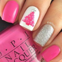 15+ Christmas Tree Nail Art Designs & Ideas 2017