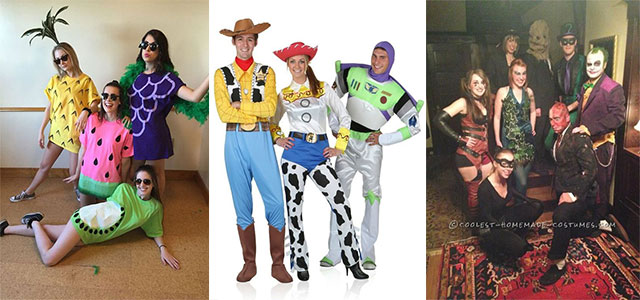 Group Costumes Ideas 2018