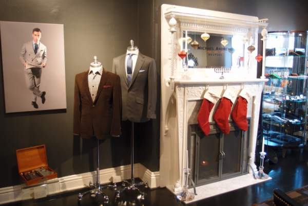Fireplace at Michael Andrews Bespoke