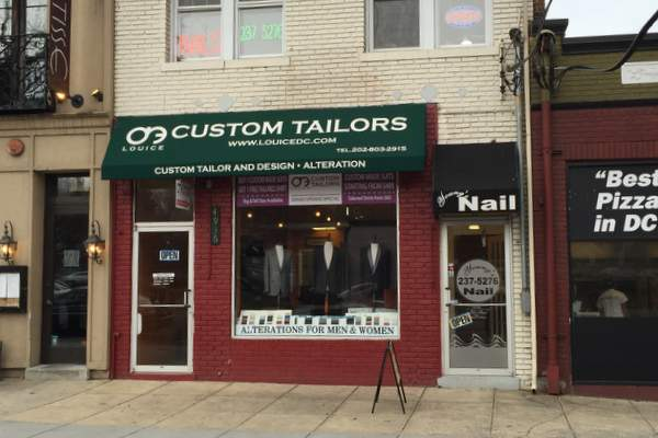Louice-Custom-tailor-outside-DC