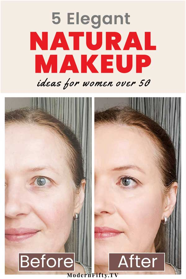 Natural Makeup Inspiration Ideas Looks For Women Over 50