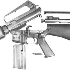 M16 Exploded Diagram 2000 Hyundai Elantra Wiring A1 A2 A3 A4 Modern Firearms See The M16a1 Field Stripping
