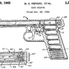 Basic Gun Diagram Photosynthesis To Label Gyrojet Modern Firearms Patent Explaining Design Of Weapon And Its Rocket Ammunition