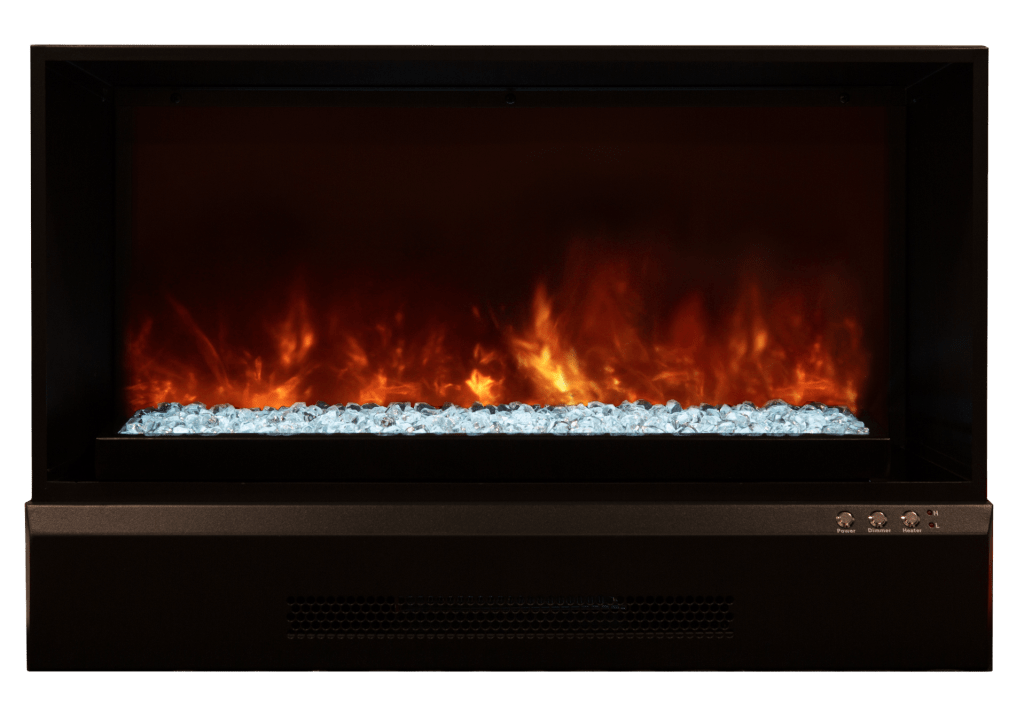 Modern Wall Mount Gas Fireplace Zcr Series - Modern Flames