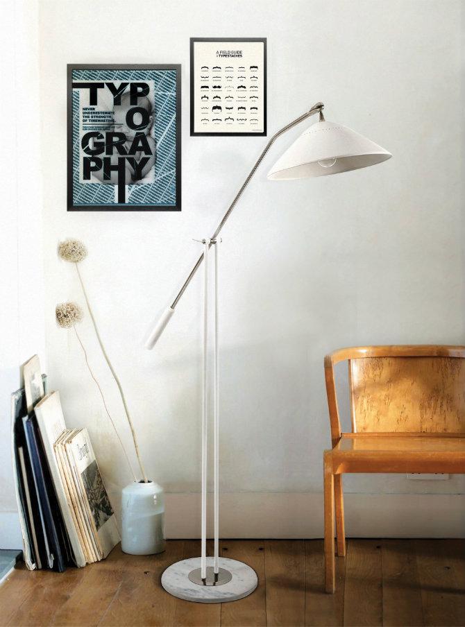 Scandinavian Design 10 Modern Floor Lamps Ideas