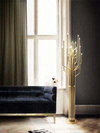 Bright Ideas: A Brass Floor Lamp for Your Contemporary Design