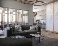 Modern Classic Style In This Interior Design Project