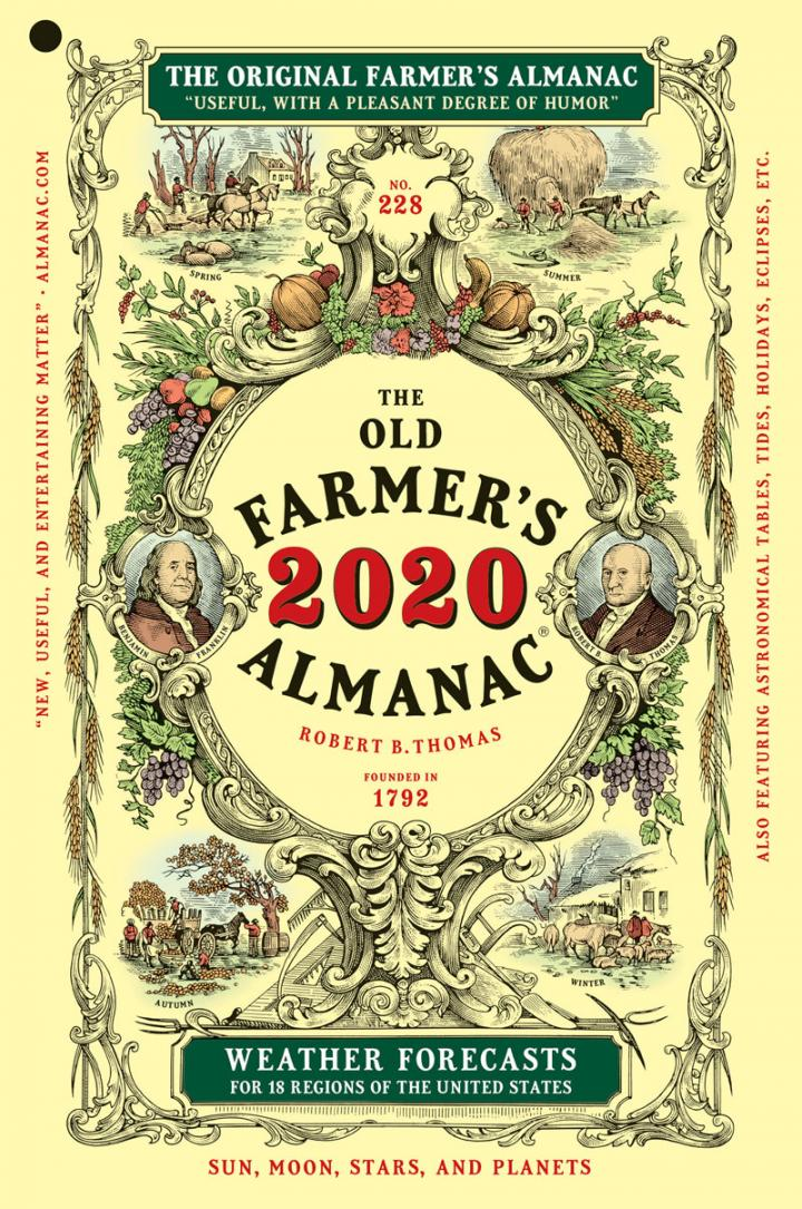 Old Farmer's Almanac 2020 Book