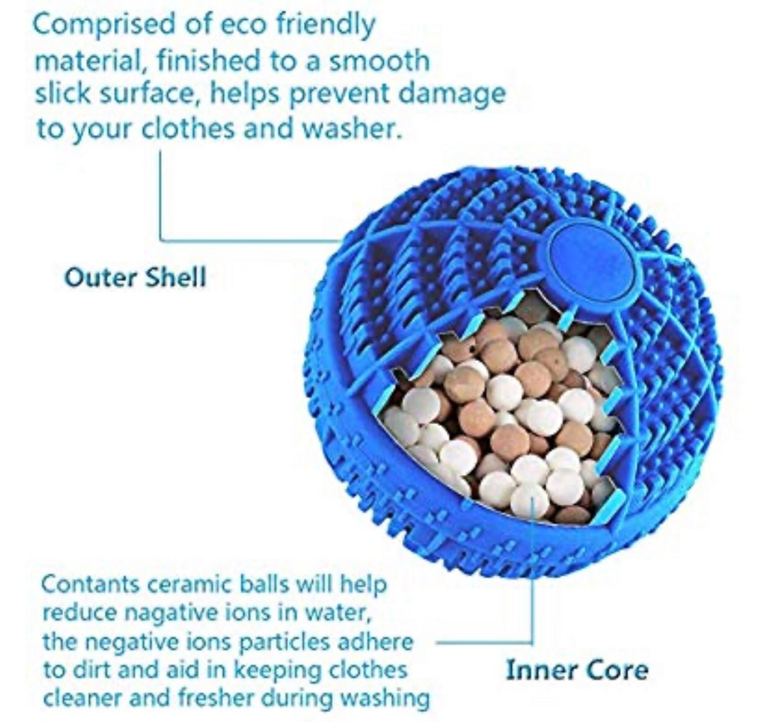Washing machine balls eco friendly