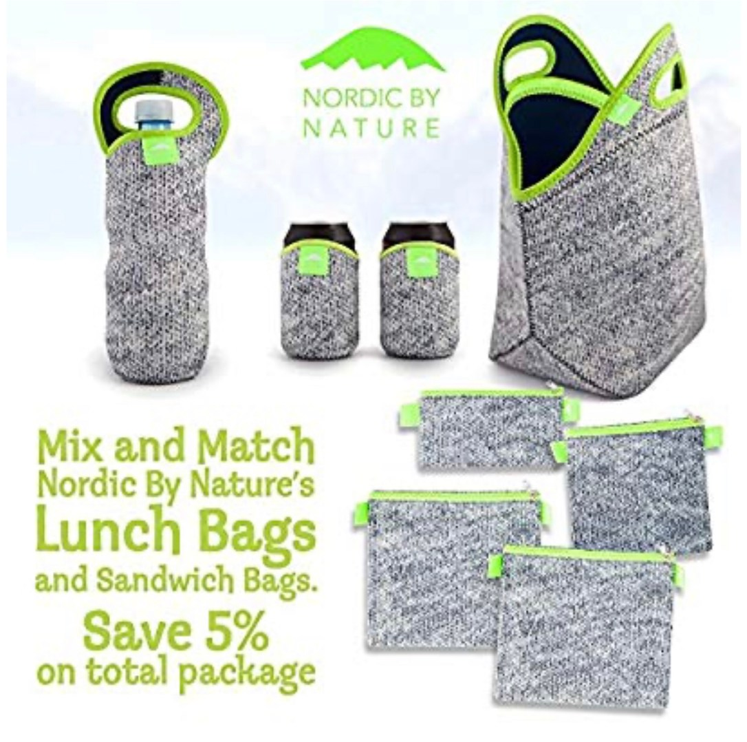 Washable sandwich bags