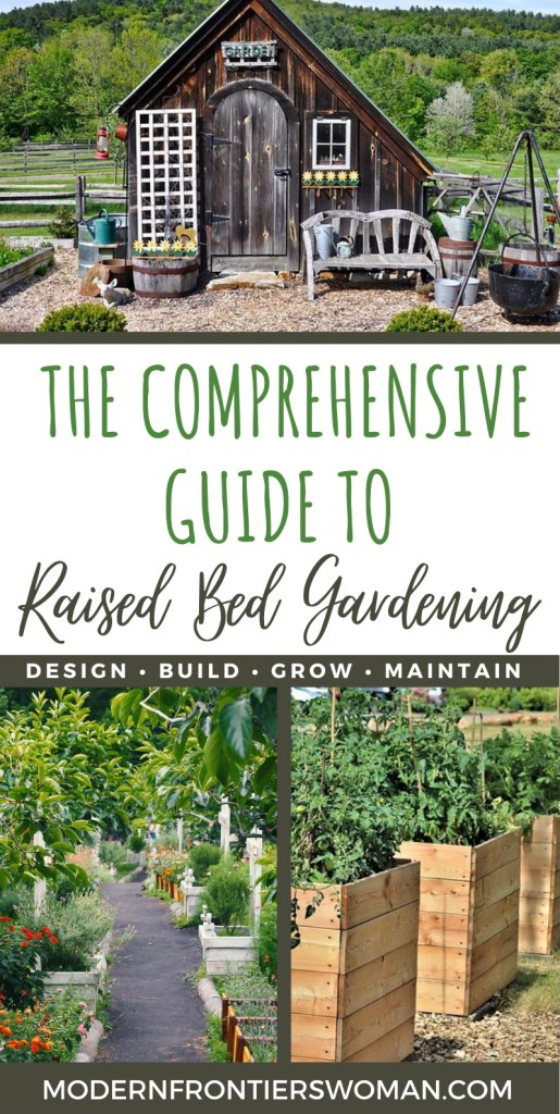 The Comprehensive Guide to Raised Bed Gardening