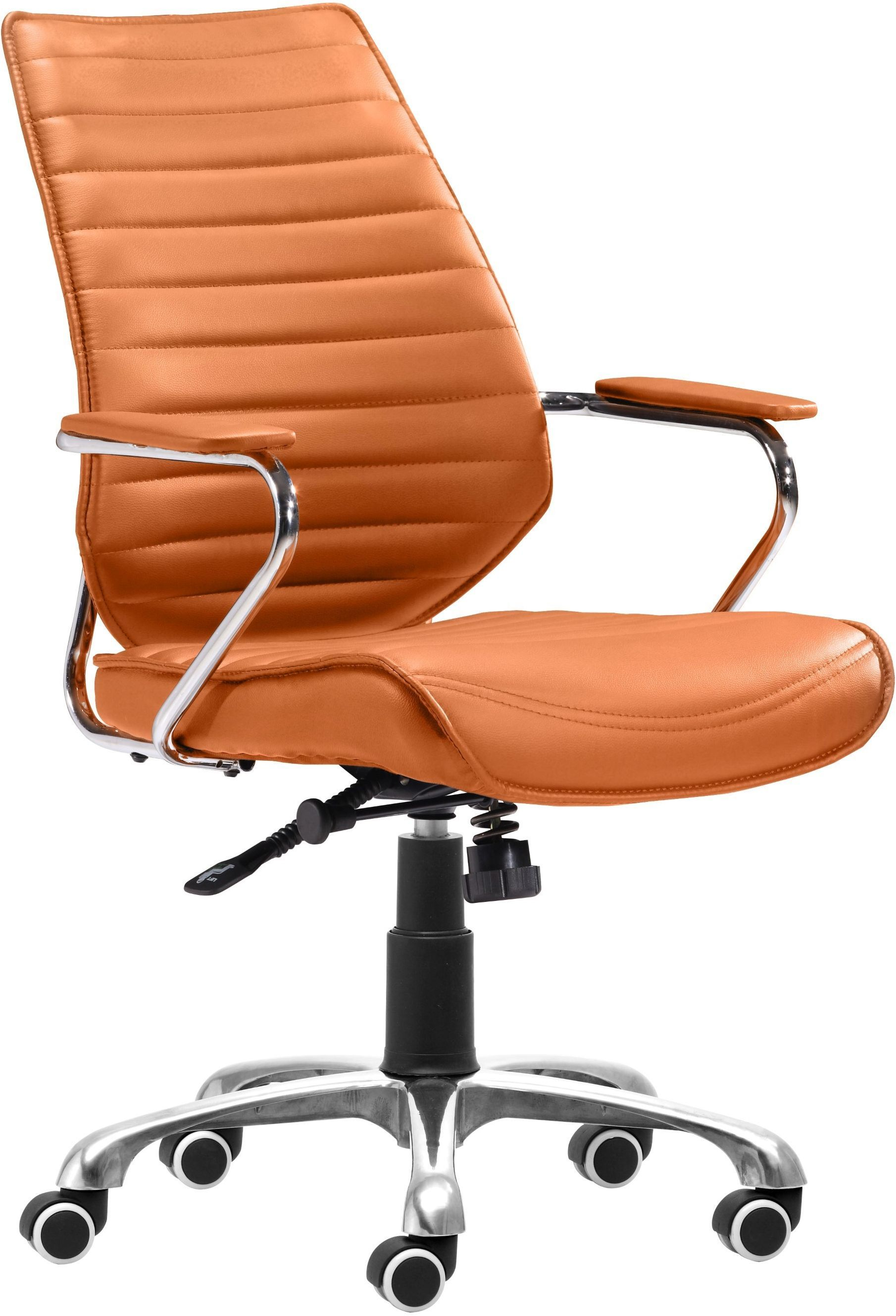 Orange Office Chairs Enterprise Office Chair Terracotta