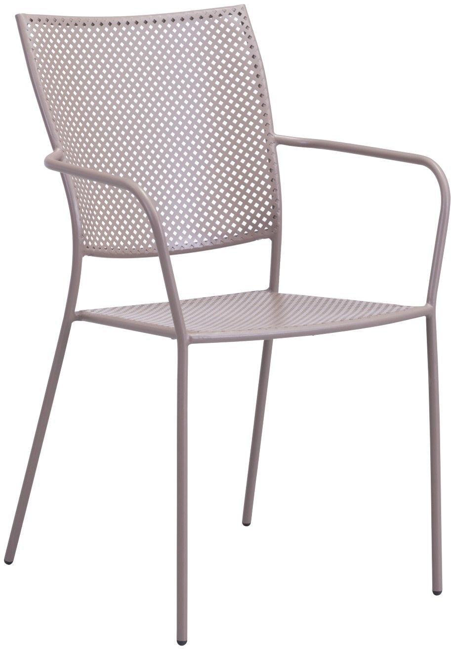 Taupe Dining Chairs Zuo Vive Outdoor Pom Dining Chair Taupe 703615