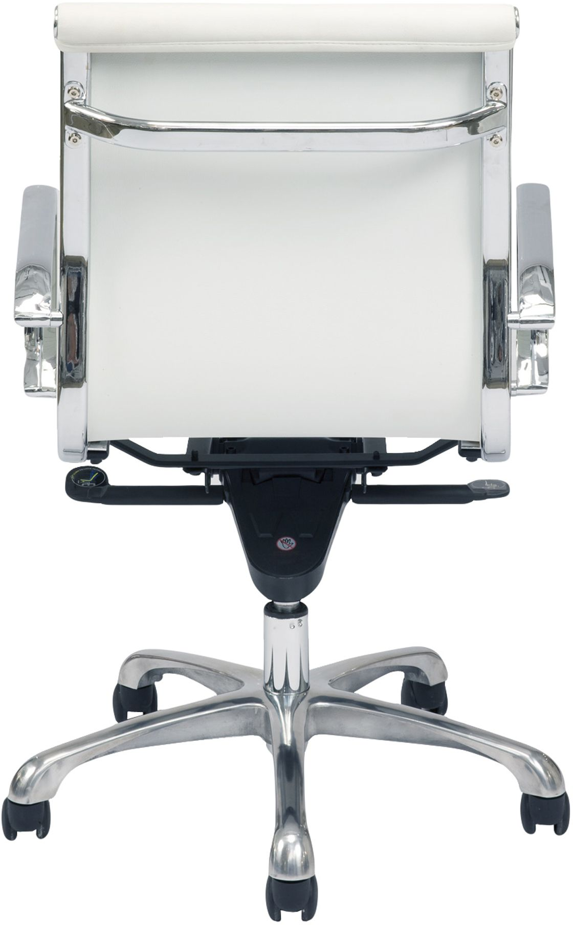 Low Back Office Chair Omega Low Back Office Chair White