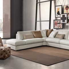 Modern Sofa Sets Toronto Modular Black Leather Beautiful And Comfortable Italian Furniture Stores Even