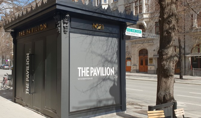 The Pavilion, Grand opening May 20th More information very soon.