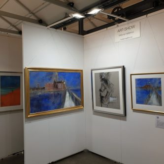 Viktoria Hallenius Affordable Art Fair Stand B9B Modern Gallery