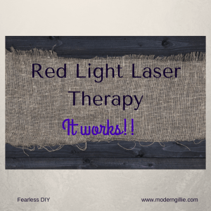 laser therapy, www.moderngillie.com