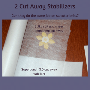 cut away stabilizers