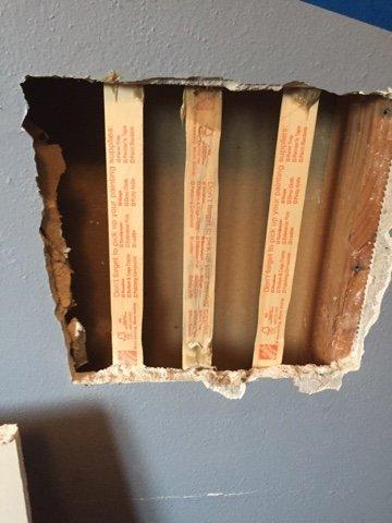 wall repair, www.moderngillie.com