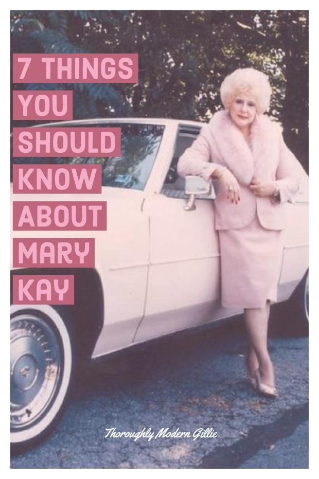 7 Things You Should Know About Mary Kay, #marykay #makeup #skincare, www.moderngillie.com