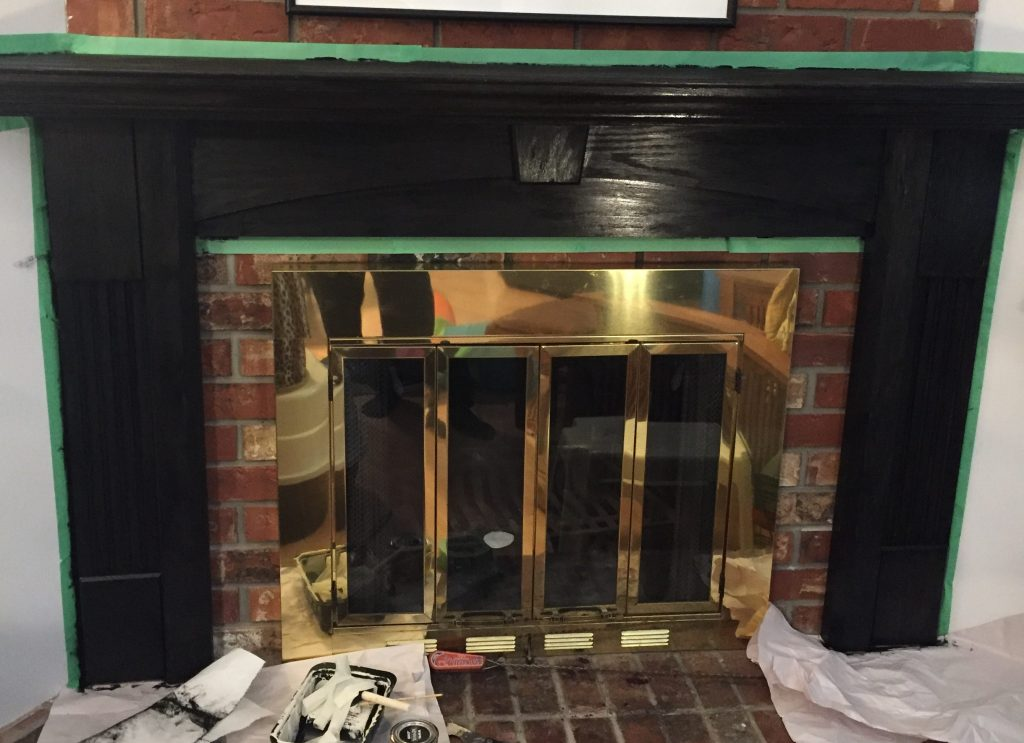 Removing Gas Fireplace Insert Easy Fireplace Mantle Upgrade - Blah To Beautiful