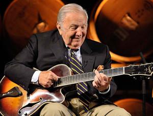 Bucky Pizzarelli on Guitar