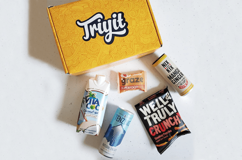 tryit product discovery club healthy eating food snacks